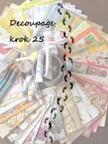 Decoupage -  lekcja 25