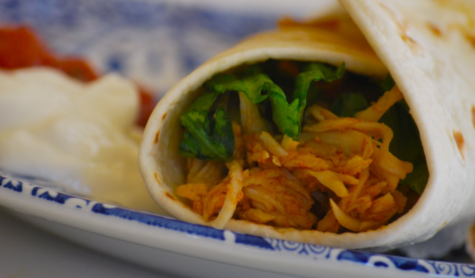 Chicken Tacos in the Crockpot