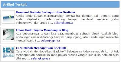 Artikel Terkait