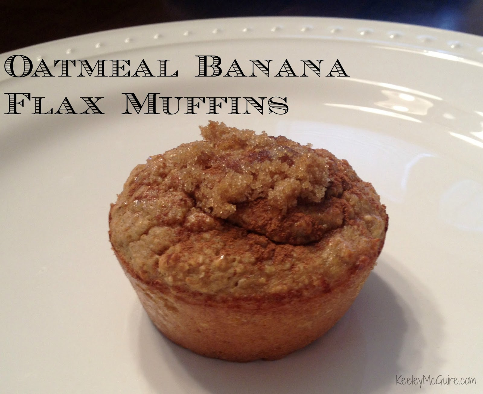Free & Allergy Friendly: {Gluten Free} Oatmeal Banana Flax Muffins ...