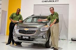 Chevrolet Spin Buatan Bekasi Laris Manis