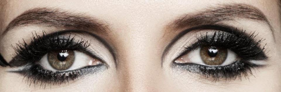 Facebook Timeline Cover Of Heidi Klum Eyes.