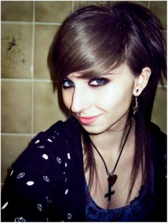 hairstyle for you long and medium emo hairstyle for teens