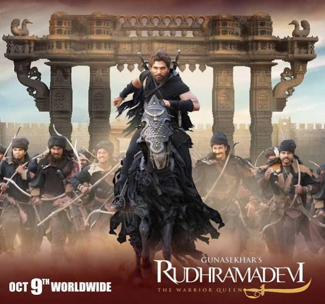 Allu Arjun in Rudramadevi movie
