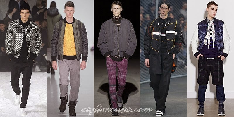 Fall Winter 2014 - 2015 Men's Duvet Coats Fashion Trends