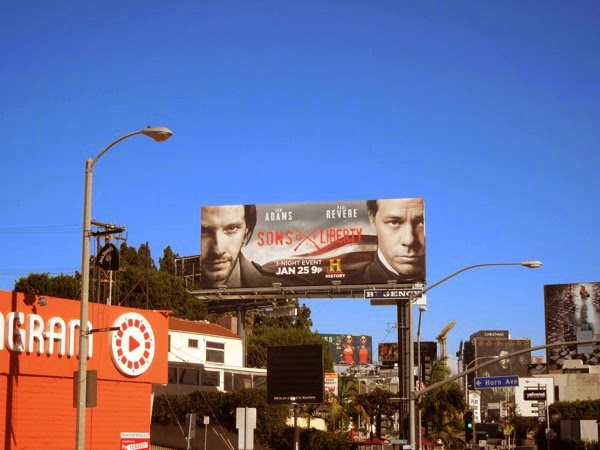 Sons of Liberty billboard