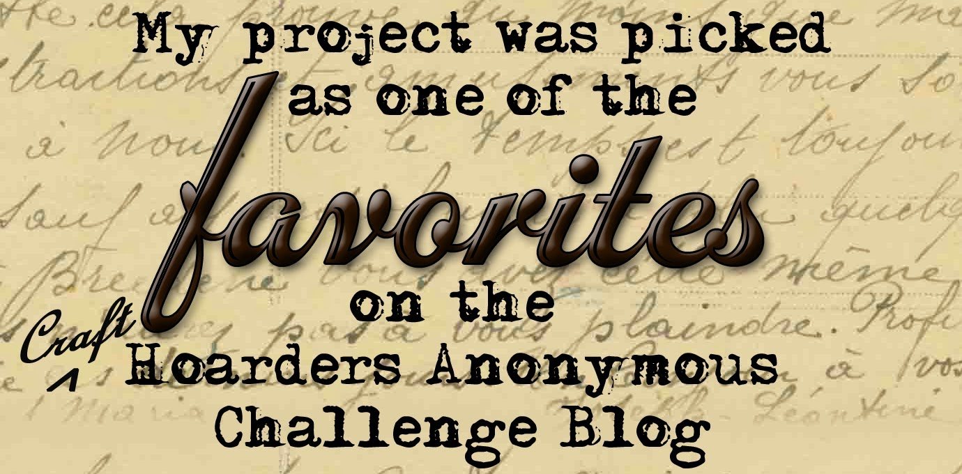 Craft Hoarders Anon Favorite