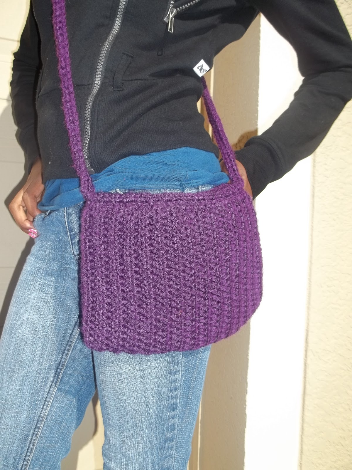 Crochet Crossbody Bag Pattern : ve tested the pattern, but if you find any problems or have any ...