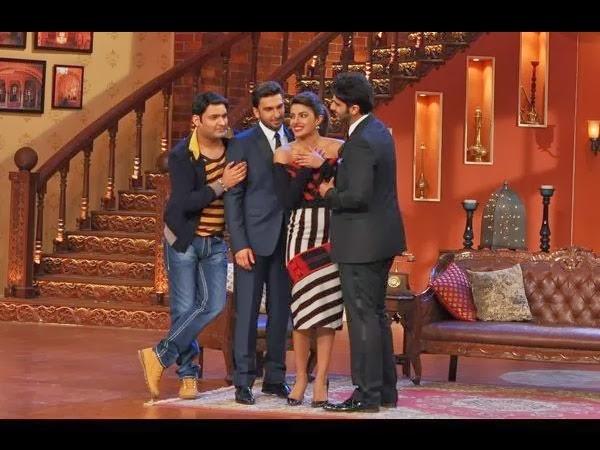 Ranveer, Priyanka & Arjun at Comedy Nights with Kapil to promote Gunday