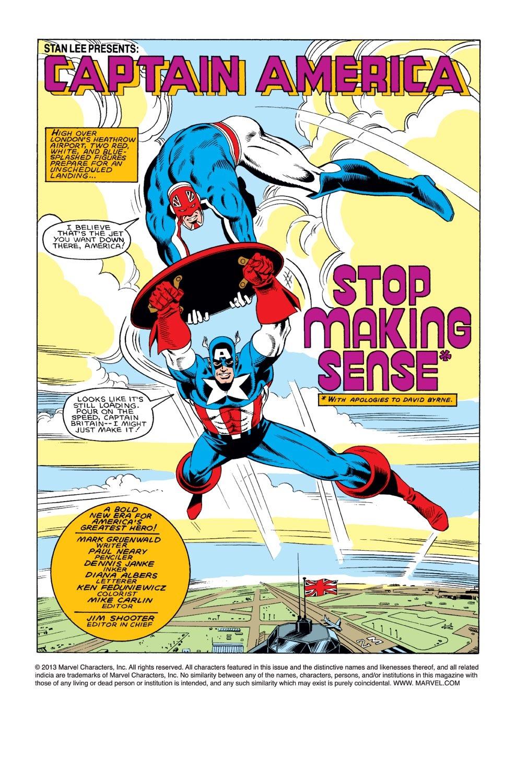 Captain America (1968) Issue #307 #235 - English 2