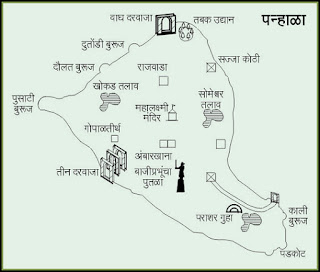 Panhala Map
