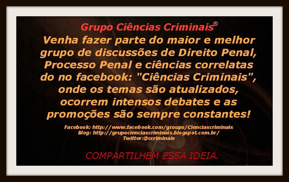 Ciencias Criminais