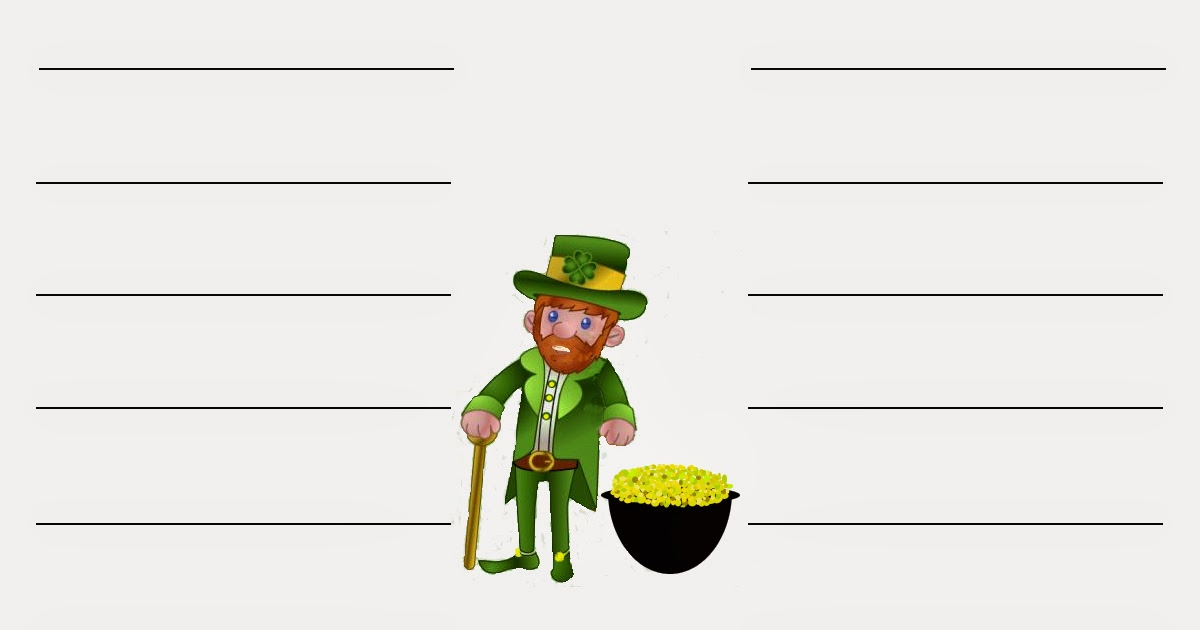 Daily Messes Leprechaun Word Hunt