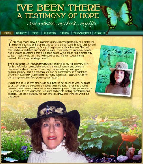 I've Been There  (IBT) A Testimony Of Hope