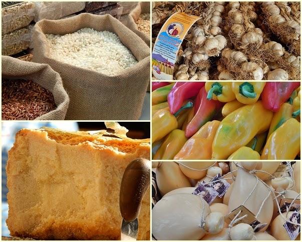 varietà di prodotti slow food all'arca del gusto di torino salone del gusto terra madre