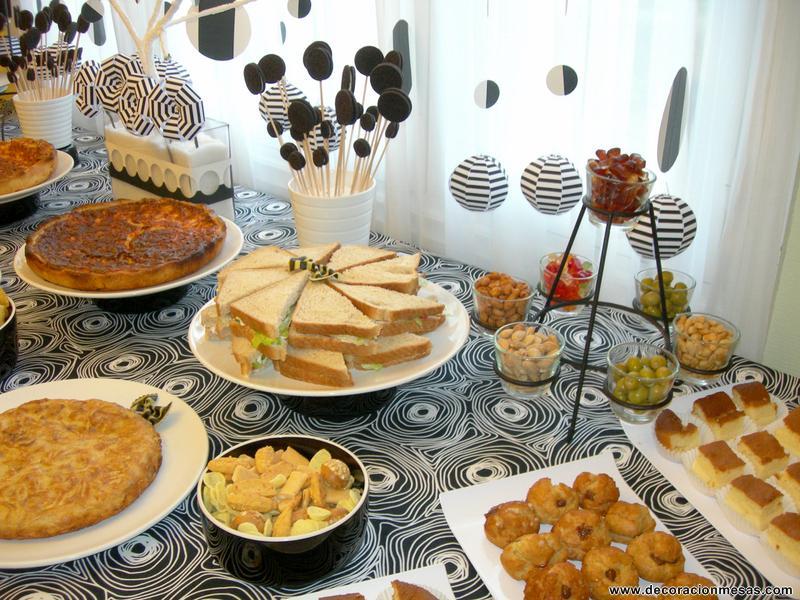 Decoracion de mesas mesa cumplea os tipo buffet - Mesas de decoracion ...