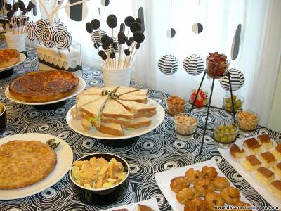 Decoracion de mesas mesa cumplea os tipo buffet - Mesa cumpleanos adulto ...