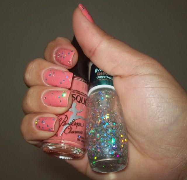 Esmalte Apuros em Miami + Glitter