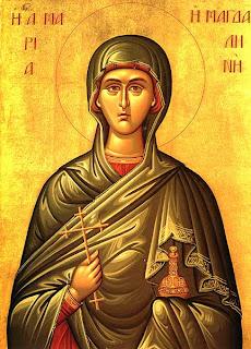 Heliga Maria Magdalena Ortodoxa Församlingens ikon