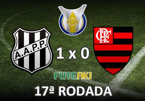 Ponte Preta 1x0 Flamengo pela 17ª Rodada do Brasileirão 2015
