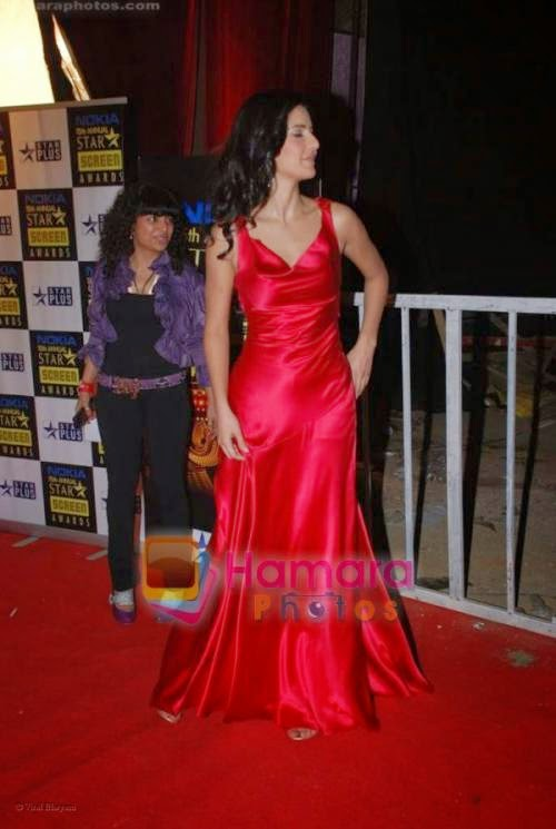 Katrina Kaif Gown red