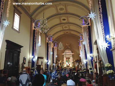 Celebrations of the Virgin of Guadalupe in Pátzcuaro