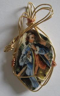 Marjorie's Cracked Plate Jewellery