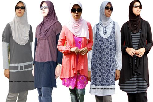 Trend Model Gaya Fashion Wanita Muslim Modern Terbaru