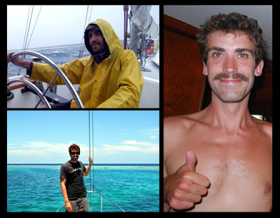 Canadian crew sailing Indian Ocean