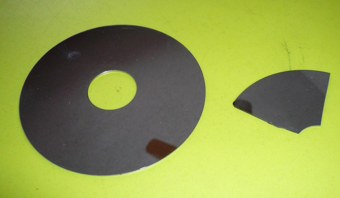 Lectronique en amateur spirographe laser for Disque en miroir