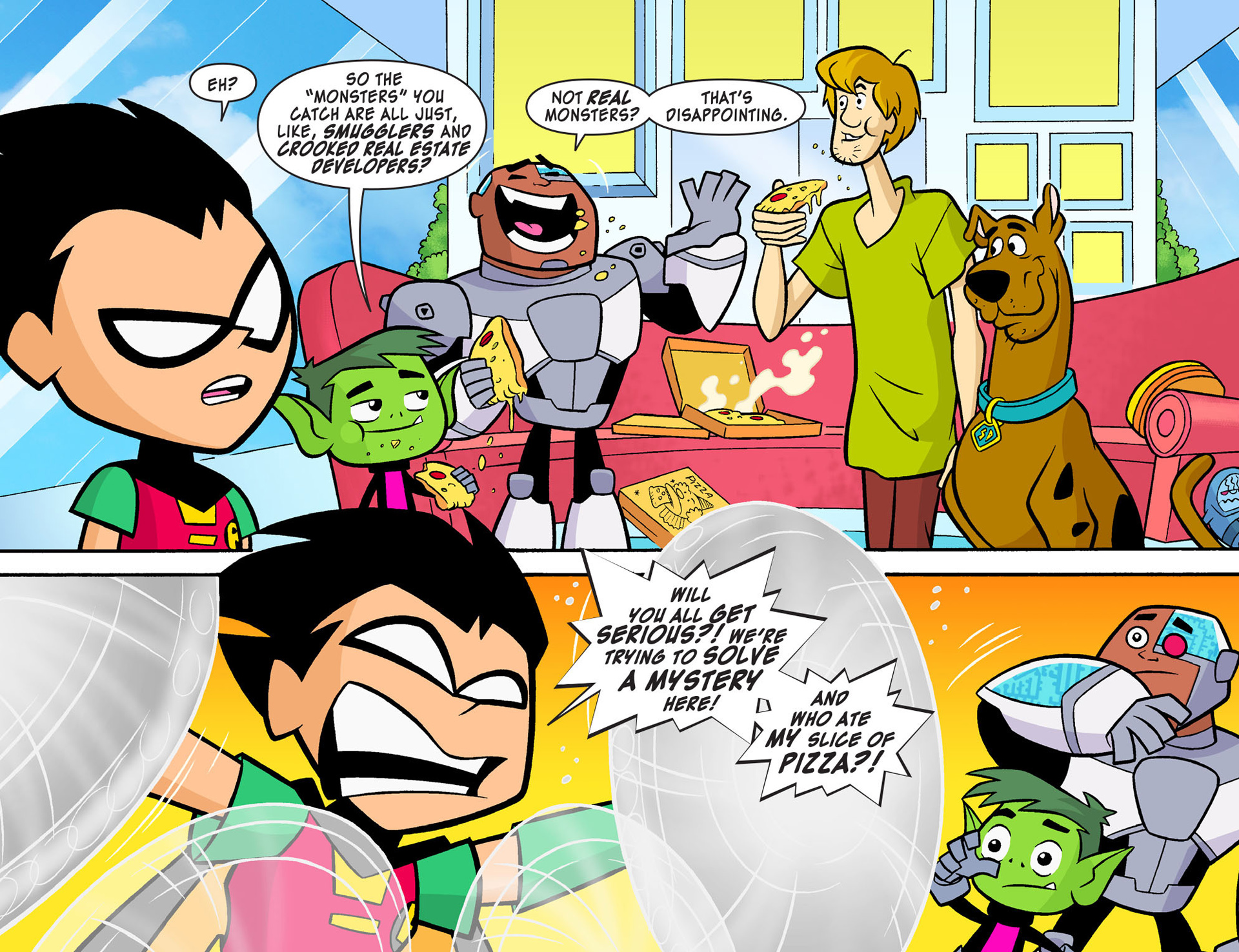 Read online Scooby-Doo! Team-Up comic -  Issue #7 - 9