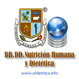Base Datos Nutricion humana y Dietetica