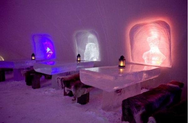 Cartoon Theme Ice Hotel In Finland Amazing Facts World