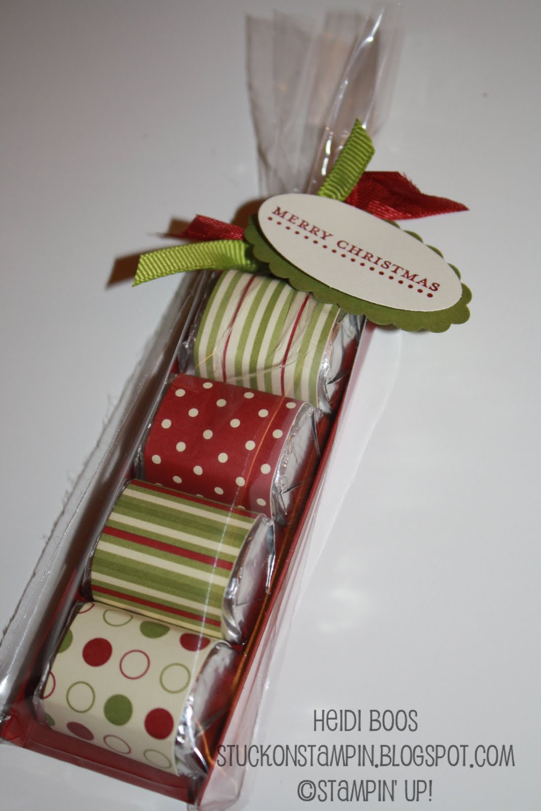 Stuck on Stampin': 12 days of Christmas {projects} - day 4