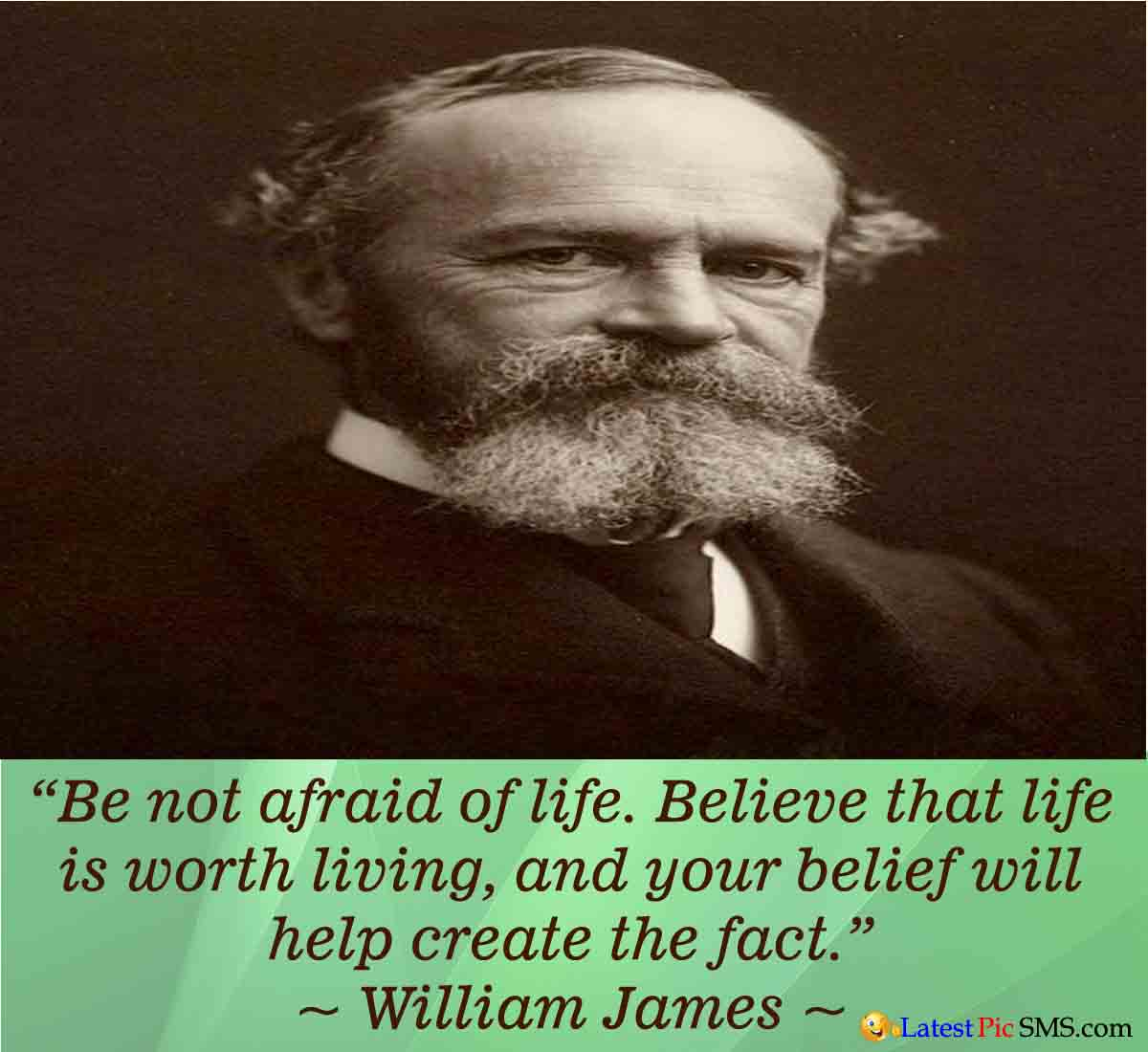 William James Life Thought