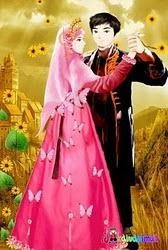 animasi pernikahan Islam