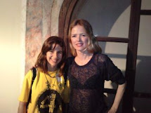 Christina Rosenvinge y yo.