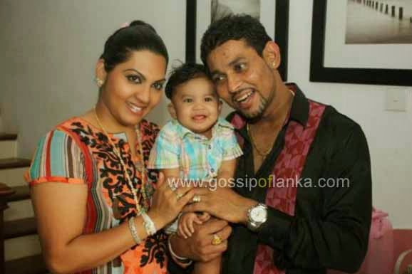 Tillakaratne Dilshan's son has 'another' daddy