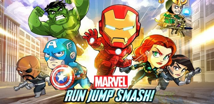 Download Marvel Run Jump Smash! Apk