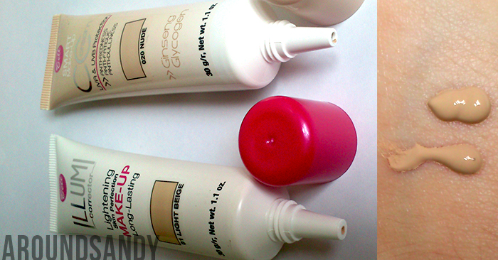 Bell CC cream Illumi make up