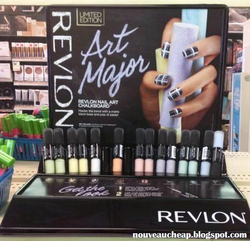 Chalkboard Nail Polish: Spotted: NEW Revlon Limited Edition Art Major Chalkboard