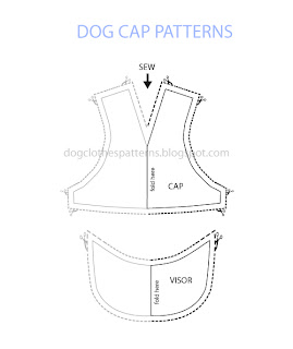 free dog cap patterns