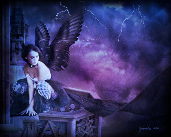 faith lost by cynnalia d36g918 Masterful Examples of Dark Photo Manipulation Art