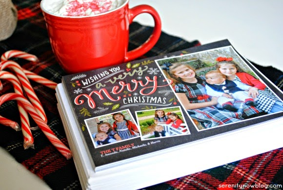 Choosing a Christmas Card Design with #ShutterflyHoliday, from Serenity Now
