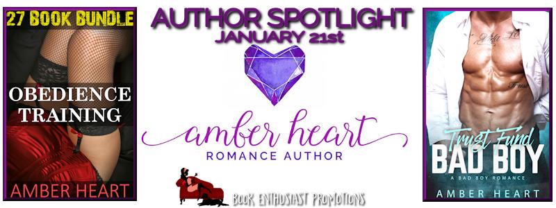 Amber Heart Author Spotlight