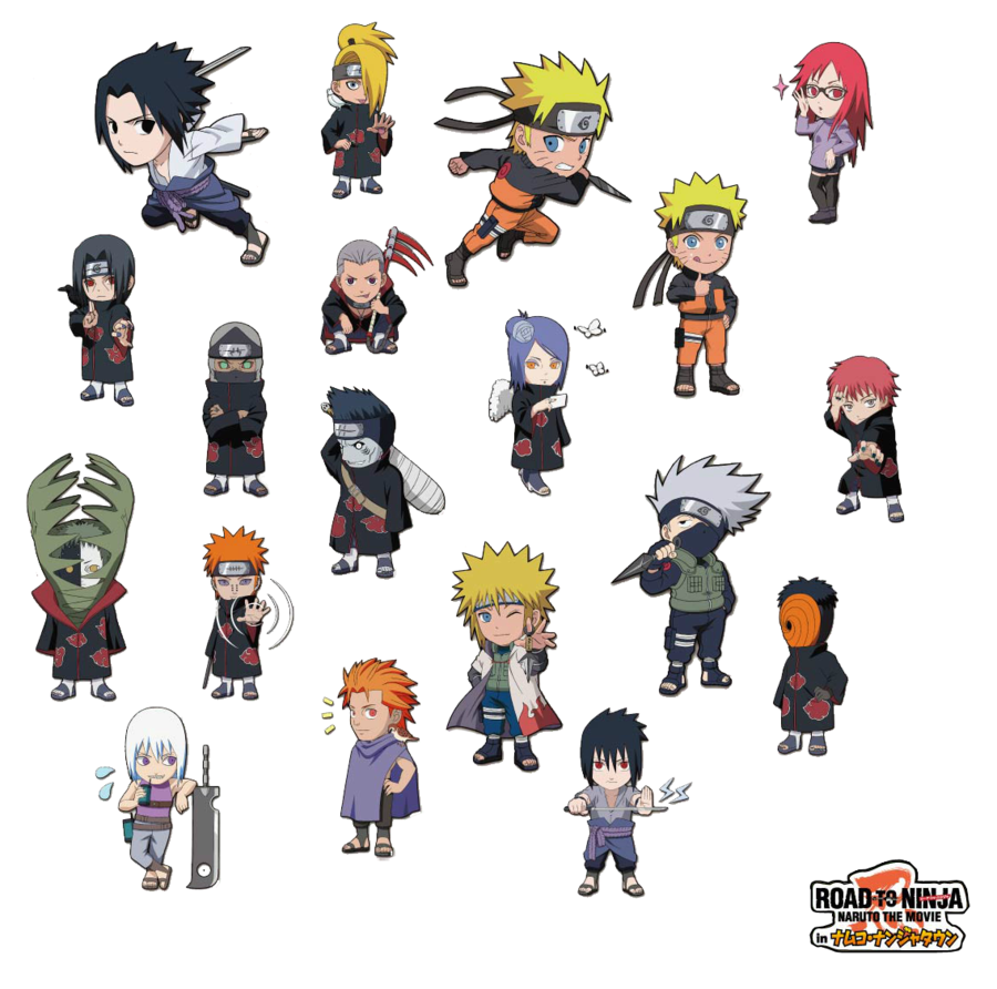 Hd custom animation wallpapers pictures chibi naruto shippuden this time its chibi naruto characters from the naruto shippuden anime you can edit if you like oo voltagebd Image collections
