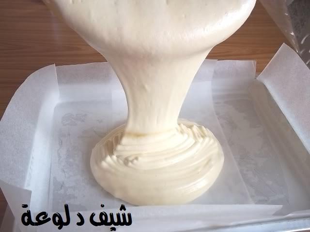 21 الكيكه الاسفنجيه للشيف دلوعه