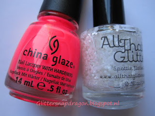China Glaze Shell-o All That Glitters Spotty Dottie Light