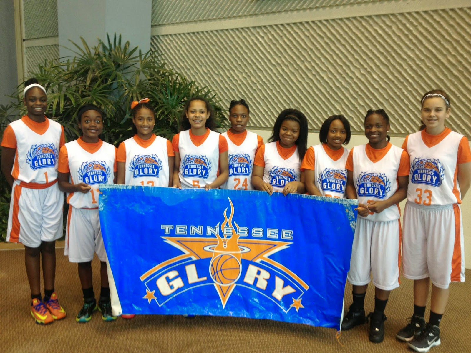 Tennessee Basketball Team Team Tennessee Glory 7th Grade