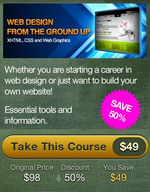 "Discount 50% ""Web Design from the Ground Up"""